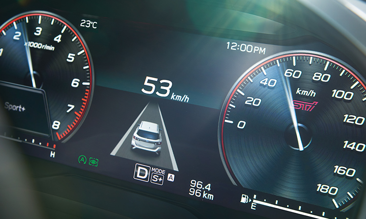LEVORG STI Sport ドライブモードセレクト イメージ