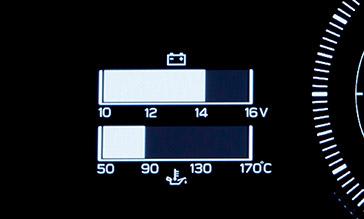 SUBARU BRZ 電圧計・油圧計