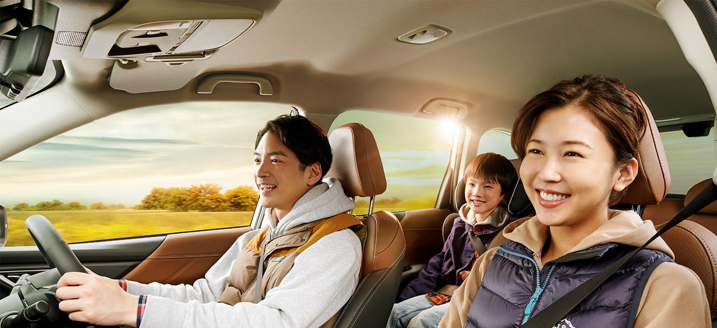 フォレスター Driving スバルグローバルプラットフォーム イメージ