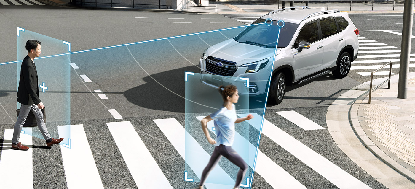 フォレスター Safety 予防安全(アイサイト) イメージ
