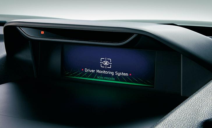 フォレスター ドライバーモニタリングシステム(ジェスチャーコントロール機能付)
