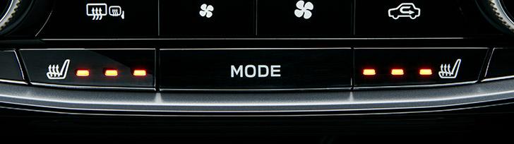 フォレスター シートヒーター(運転席+助手席+後席左右)