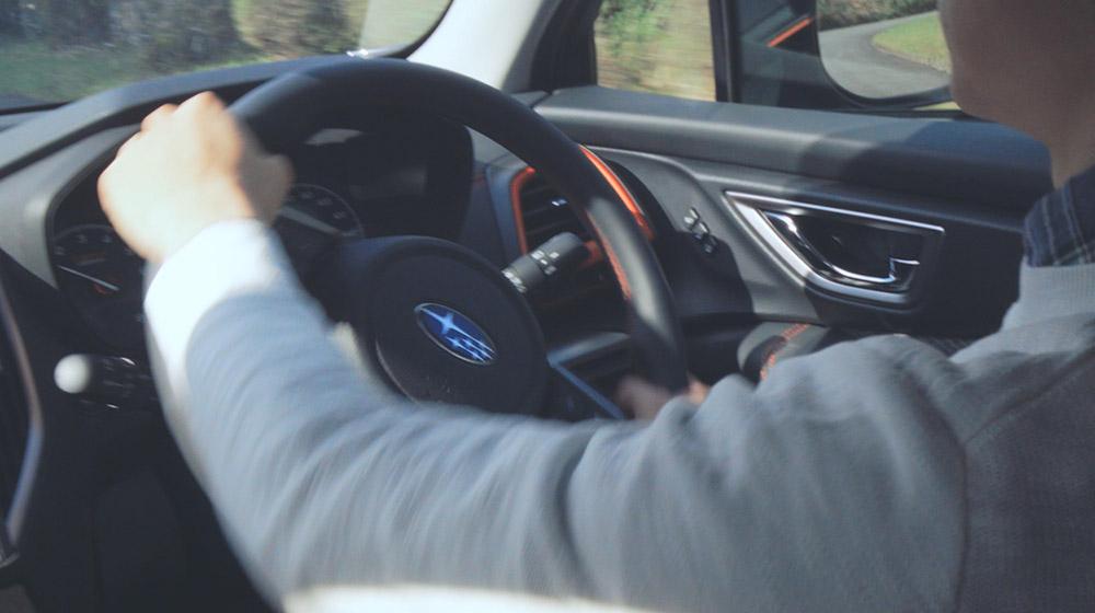 フォレスター スバルグローバルプラットフォームと走行安全