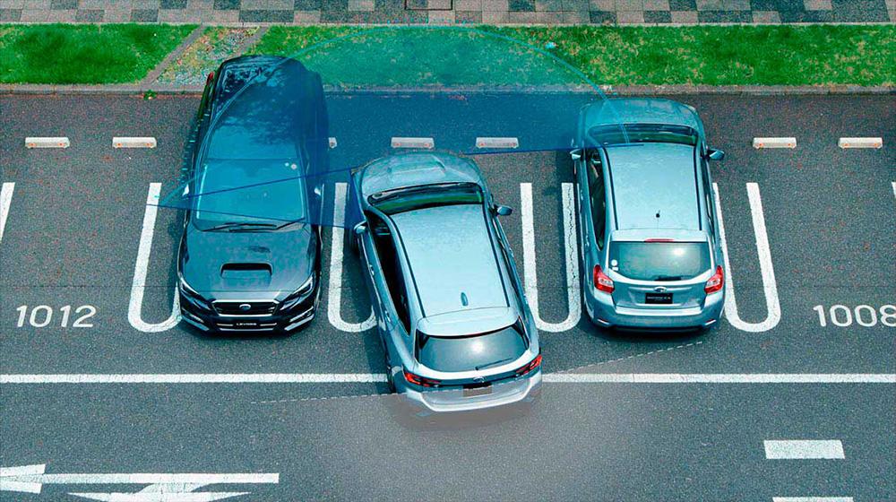 レガシィ アウトバック アイサイト:駐車