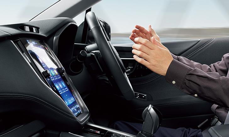 レガシィ アウトバック 渋滞の運転負荷を大幅に軽減する